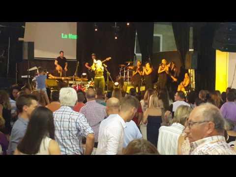 La hungara por bulerias, Feria de Aznalcóllar 24/06/2017