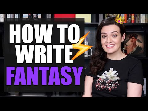 10 BEST Tips for Writing FANTASY