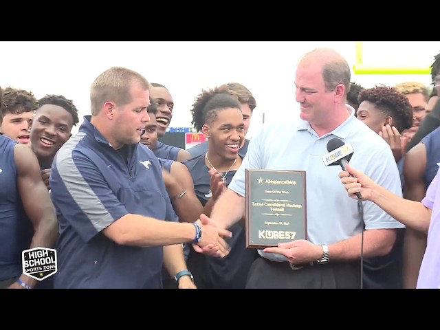 Lamar Consolidated  Football - Team of the Week 9-21-19