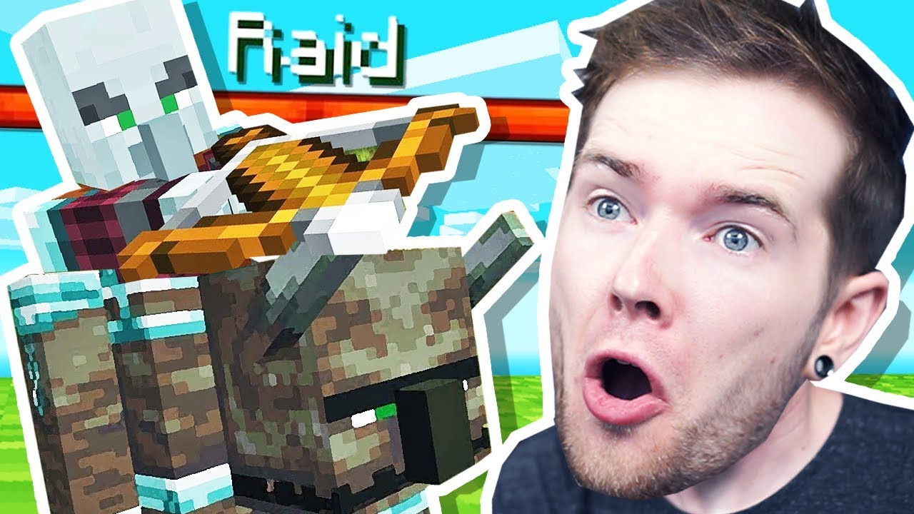 I was RAIDED in Minecraft Hardcore! thumbnail