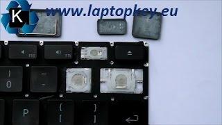 """Come montare cambiare sosituzione un tasto della tastiera di un portatile - Guida APPLE 13"""" G4"""
