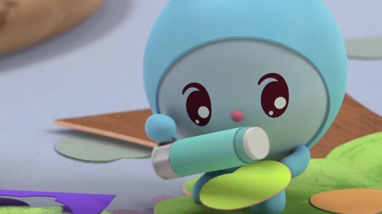 Малышарики - Раскраска для детей - Дерево - YouTube
