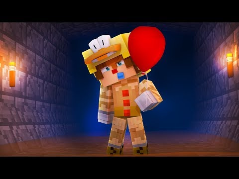 MINECRAFT - HOW TO BECOME IT THE CLOWN!!