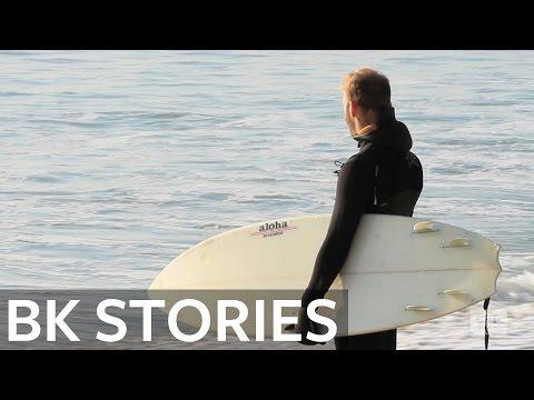 Rockaway Beach Winter Surfers | BK Stories