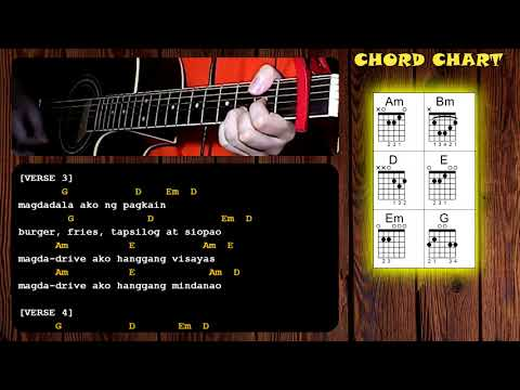 Overdrive by Eraserheads - Guitar Chords