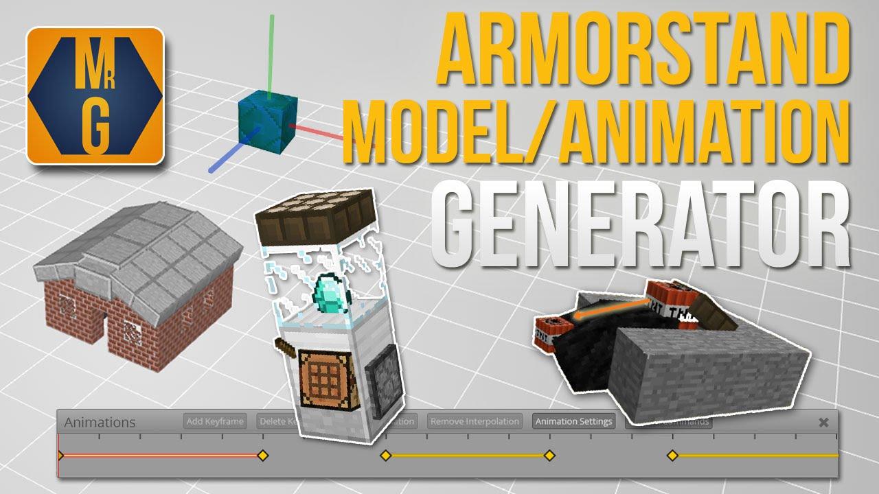Armorstand Positioner / Animation Generator