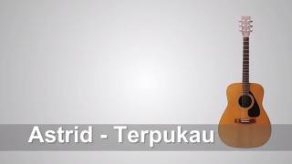 Video Lirik Lagu Astrid - Terpukau + Chord download MP3, 3GP, MP4, WEBM, AVI, FLV Desember 2017
