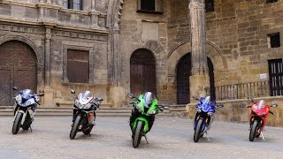 2016 Kawasaki ZX-10R takes on superbike rivals| Group Tests | Motorcyclenews.com