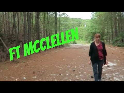 Abandoned & Exploring  Ft. McClellan Alabama Part One