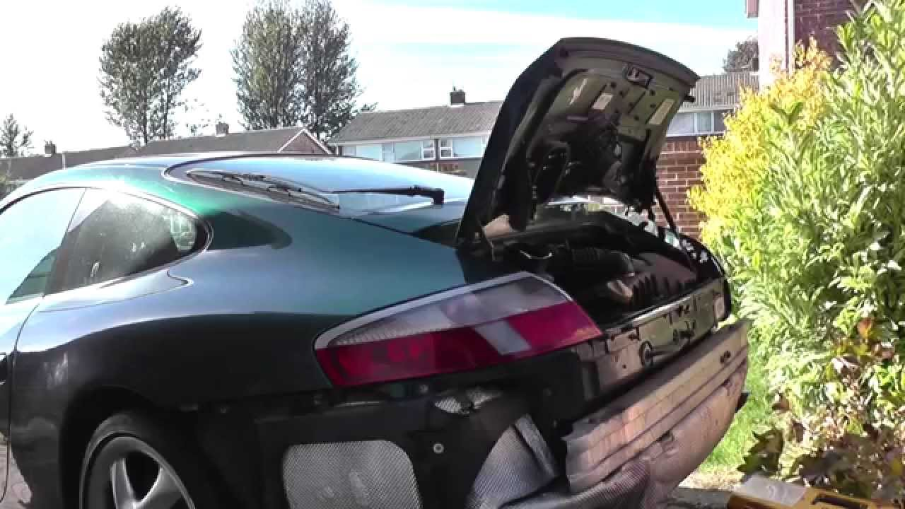 small resolution of porsche 996 or boxster rear bumper removal guide
