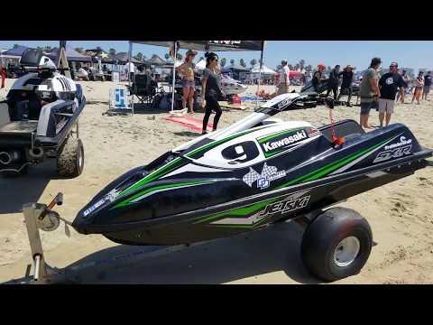 Jet Ski Racing HB Southside Pier On DAN-O-VISION...