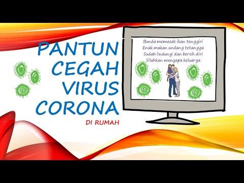PANTUN MENCEGAH VIRUS CORONA