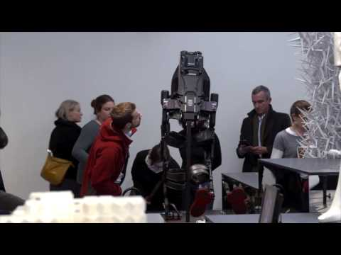 Hello Robot. Introduction to the exhibition with the curators Amelie Klein & Thomas Geisler