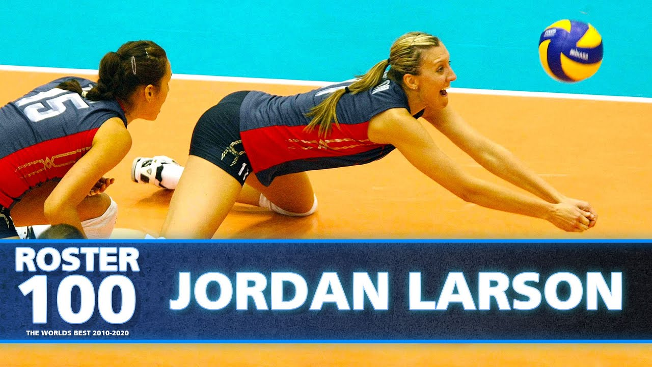 Volleyball Evolution of Jordan Larson - Olympic Silver Medallist of 2012!🇺🇸 | Volleyball World | HD