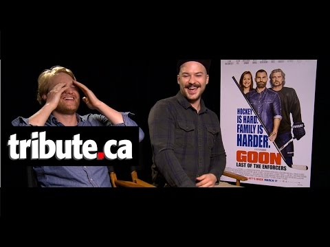 Wyatt Russell & Marc Andre Grondin  Goon: Last of the Enforcers