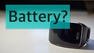 Lollipop on Gear S Battery Life Test