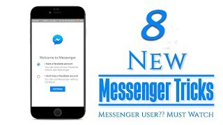 8 Hidden Facebook Messenger Tricks You Need To Try Right Now | 2017
