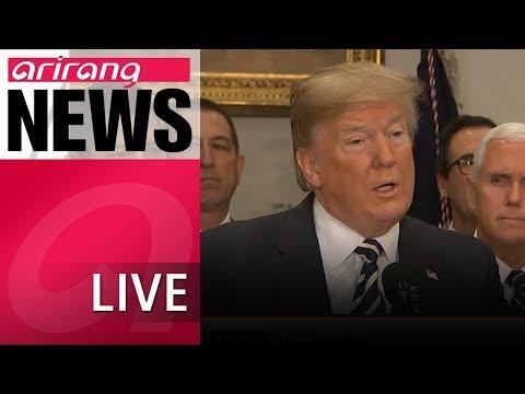 [LIVE/ARIRANG NEWS] Trump cancels summit with North Korean leader Kim Jong-un - 2018.05.25