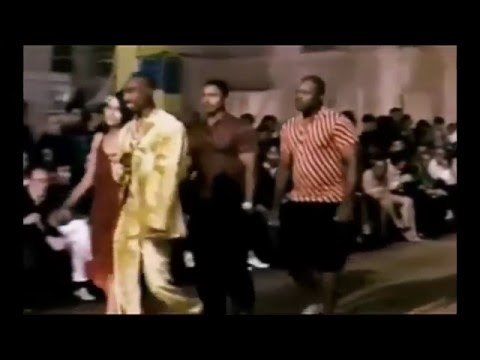 2Pac - Versace Fashion Show in Milan, Italy (June 1996)