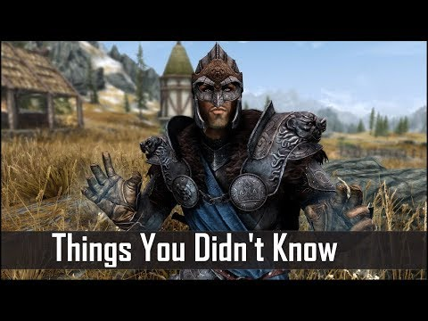 Skyrim: 5 Things You Probably Didn't Know You Could Do - The Elder Scrolls 5: Secrets (Part 18)