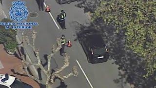 Policía intensifica control en Logroño con helicóptero Cóndor