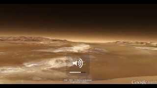 Google Mars Valles Marineris Fly-through