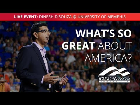 Dinesh D'Souza LIVE at University of Memphis
