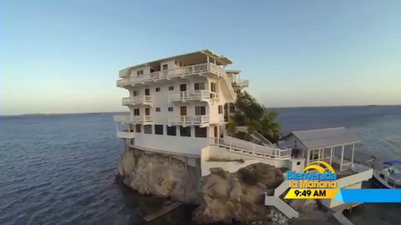 dunbar rock hotel en islote de roca en guanaja bienvenida la maana