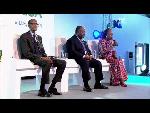 NYFA 2014 African Citizens Summit - Opening Speech & Ask Leaders [In French]
