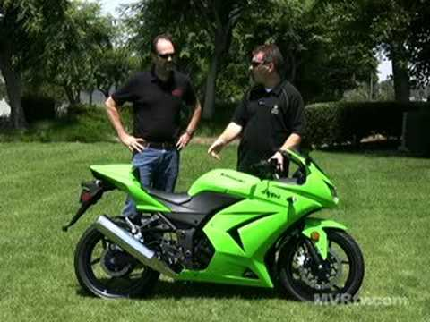 Quick Look - 2008 Kawasaki Ninja 250R - YouTube