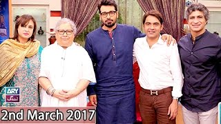 salam zindagi guest irfan motiwala durdana butt 2nd march 2017