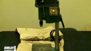 Drl-300.00 - Small Benchtop Drill Press -  Jewelry Making Tools Demo