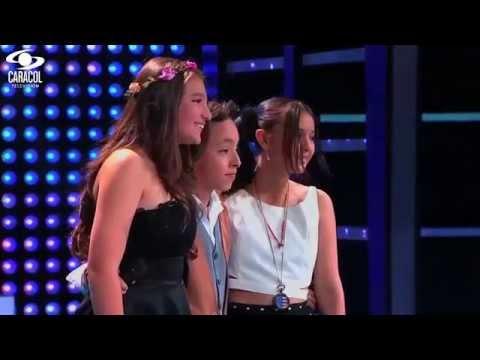 Sebastian, Laura y Juanita cantaron 'Hoy tengo ganas de ti'José Gallardo-LVK Colombia–Batallas –T1