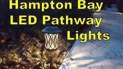 Hampton Bay Solar LED Pathway Lights (Home Depot)