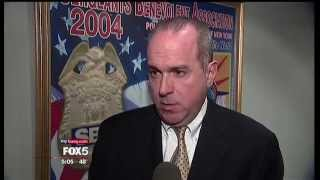 SBA President Ed Mullins on Fox5 News about di Blasio staff Rachel Noerdlinger