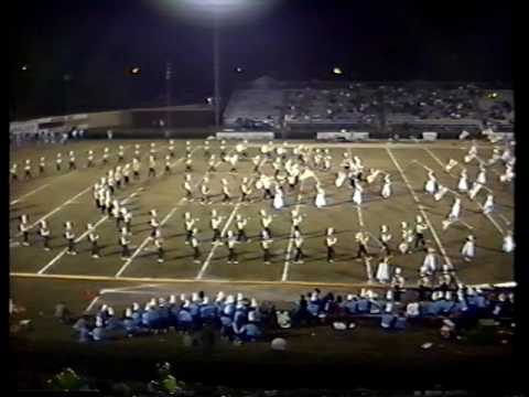 Ware County High School Band Fall 1989