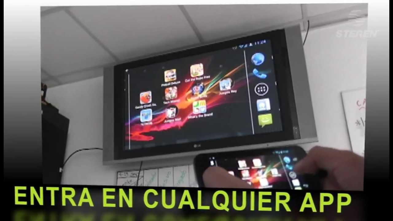 Adaptador Mhl A Hdmi Para Smartphone Youtube