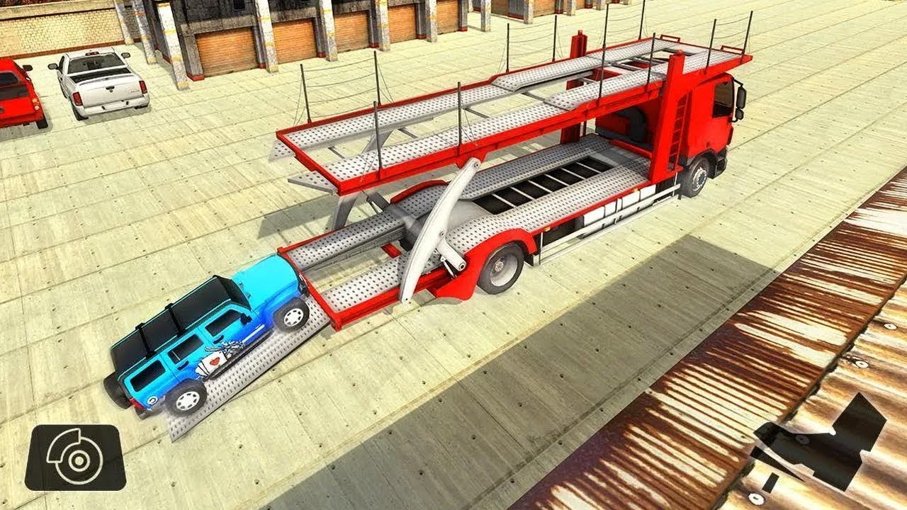 Vehicle Transporter Trailer Truck (by Frenzy Games Studios) Android Gameplay [HD]