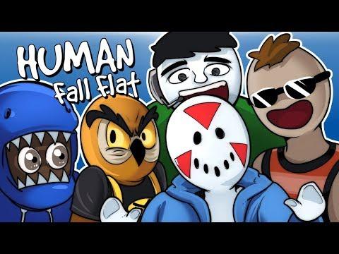 Human Fall Flat - SUPER PUZZLE SOLVERS! (Funny Moments)