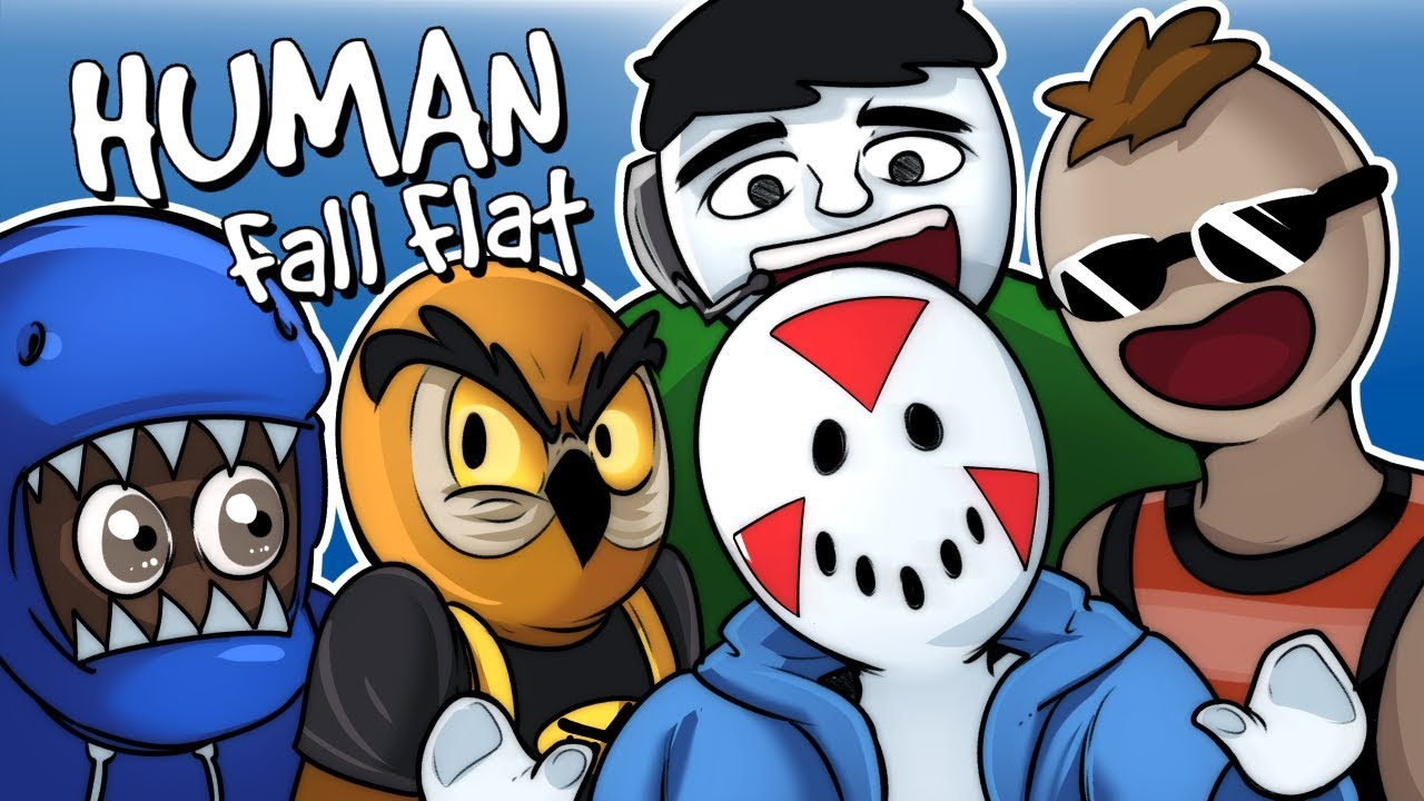 human fall flat super puzzle solvers funny moments youtube