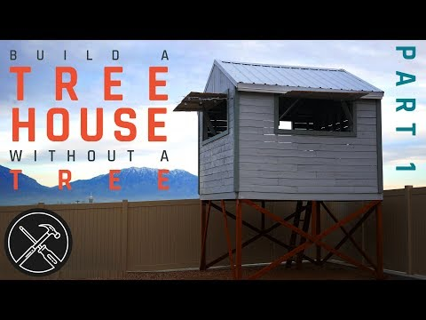 How to Build a Treeless Tree House – Part 1 – Footings and Deck