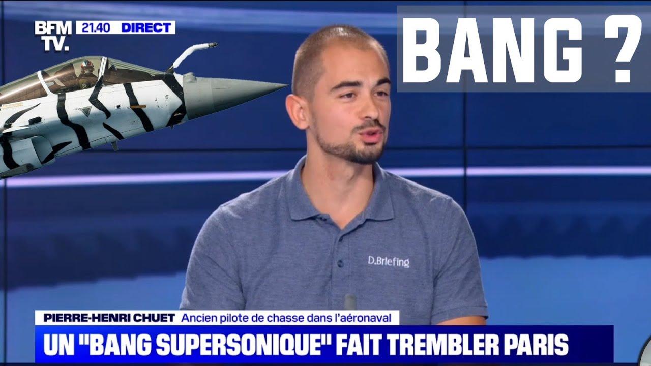 Download RAFALE A PARIS ?  CHEZ BFM TV POUR PARLER DU BANG SUPERSONIQUE