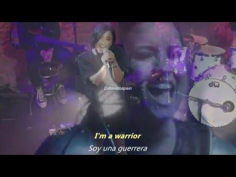 Demi Lovato-Warrior[Sub.Español/Inglés]Live