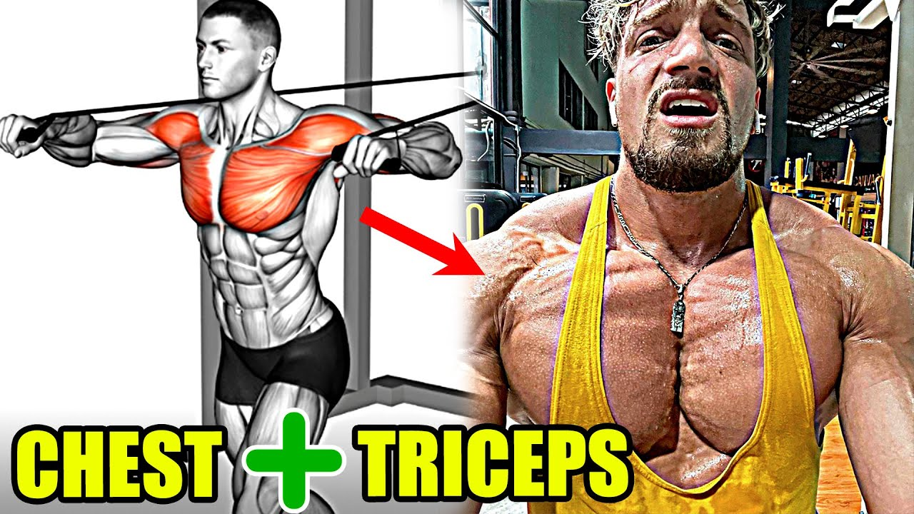 CHEST & TRICEPS - TRY THIS MASS BUILDING WORKOUT!