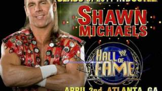 Hall of Fame: 2011 WWE Hall of Fame inductee - Shawn