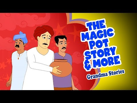 The Magic Pot & More - English Stories   Bedtime Stories   Grandma Stories For Kids In English