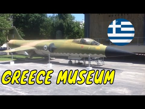 Greek War Museum Athens Greece Tour Travel Guide Visit  Vacation Video