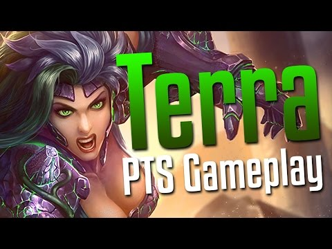 Smite: So Many Stones!- Terra PTS Gameplay