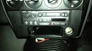 how to remove a radio from xg and xh falcon utes