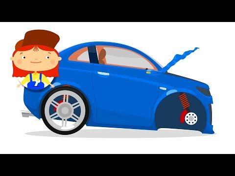 A car repair cartoon. Construction vehicles with dr McWheelie. A family cartoon.